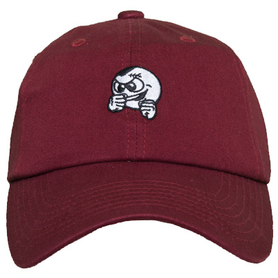 UNFAIR ATHLETICS Baseball Cap PUNCHINGBALL burgundy