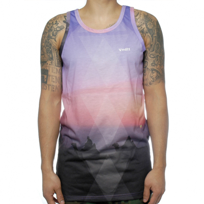VANDAL COL Tank Top LOST PYRAMID multi