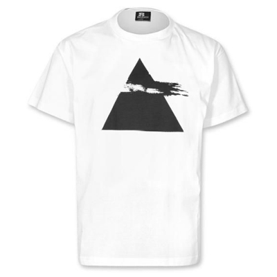 EIGHT MILES HIGH T-Shirt PYRAMID white