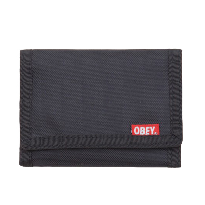 OBEY Portemonnaie QUALITY DISSENT black