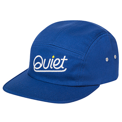 THE QUIET LIFE 5Panel Cap QUIET royal