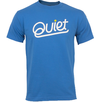 THE QUIET LIFE T-Shirt QUIET PREM royal