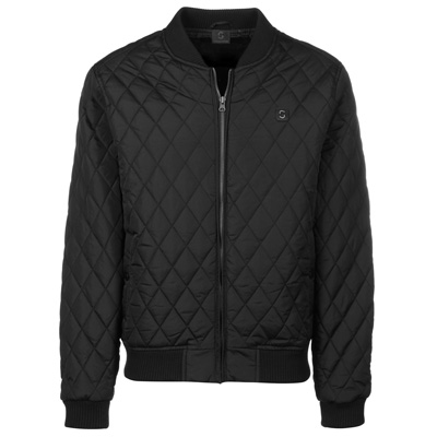 STREETSPUN Jacket QUILTED HASH black