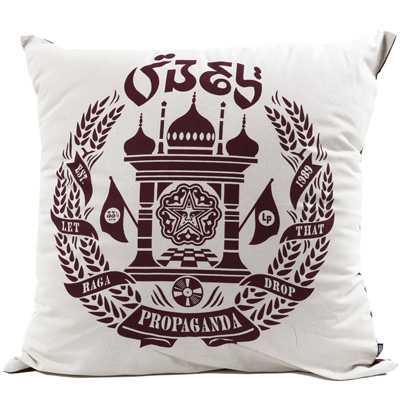 OBEY Pillow RAGA DROP cream