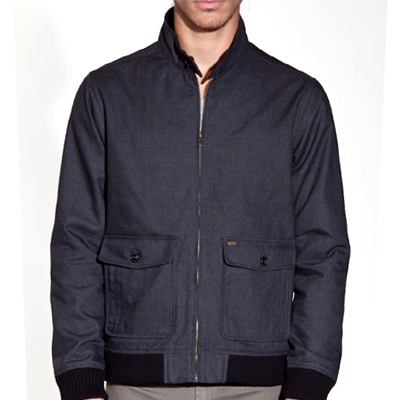 OBEY Jacket REBEL charcoal heather