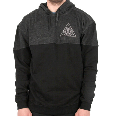 REBEL8 Hoody ANTAGONIST black/grey