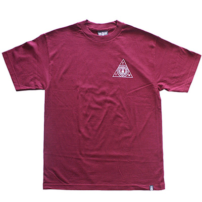 REBEL8 T-Shirt THE ORDER burgundy