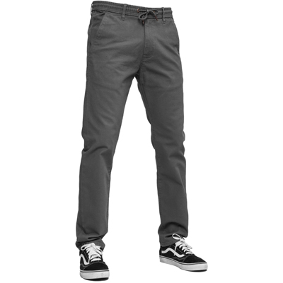 REELL Chino Pants REFLEX EASY ST dark grey
