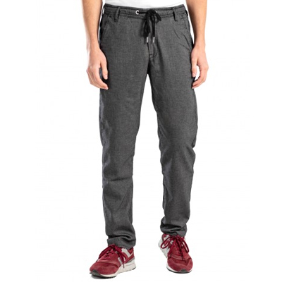 REELL Chino Pants REFLEX EASY ST superior black