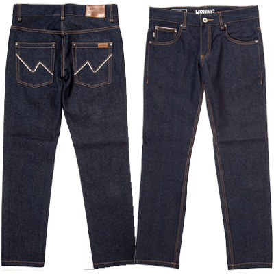 WRUNG Jeans RAW SELVEDGE raw indigo