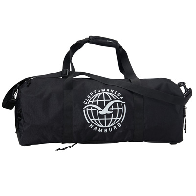 CLEPTOMANICX Travelbag DUFFLE black