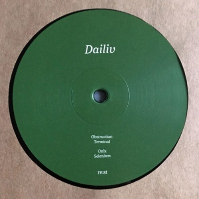 Dailiv - Obstruction - Vinyl 12""