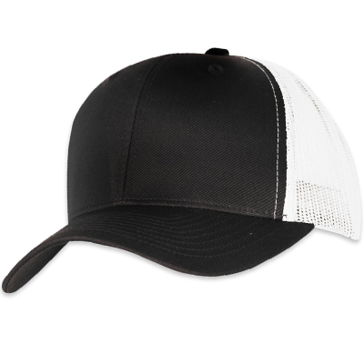 YUPOONG Retro Trucker Cap black/white
