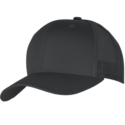 YUPOONG Retro Trucker Cap uni black