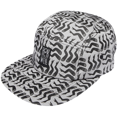 ROCKWELL 5Panel Cap LOTS OF LEGS charcoal