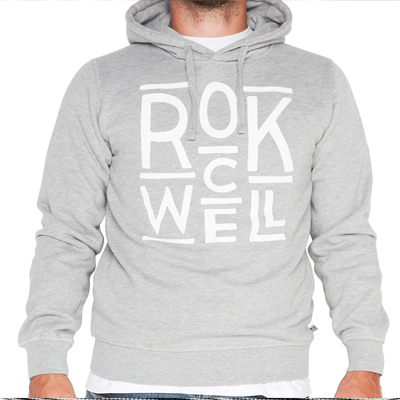 ROCKWELL Hoody CABINET LOGO heather grey
