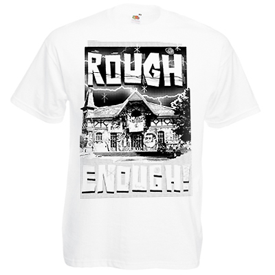 STILLALIVE T-Shirt ROUGH ENOUGH II white