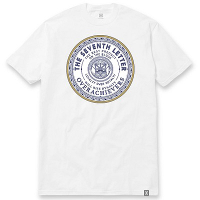 7TH LETTER T-Shirt RUSSIA white