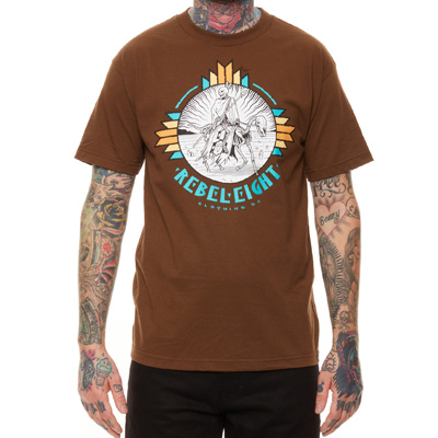 REBEL8 T-Shirt SACRED GROUNDS coffee