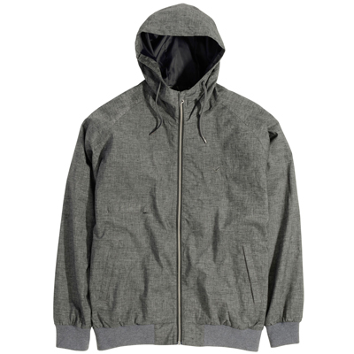 CLEPTOMANICX Jacke SATU heather grey