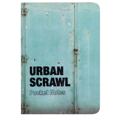 URBAN SCRAWL Notebook POCKET