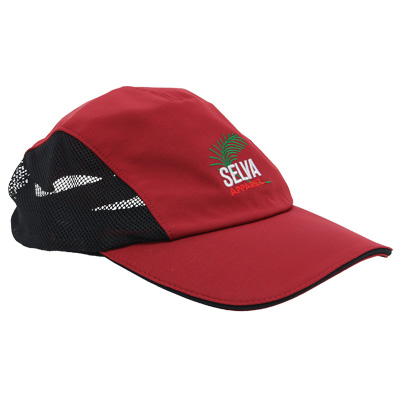 SELVA 3Panel Cap SPORTS red