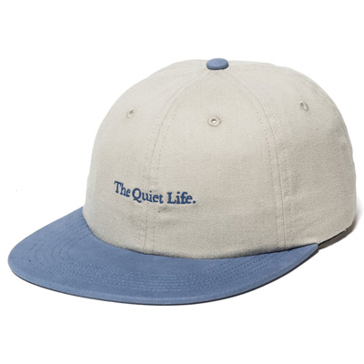 THE QUIET LIFE Polo Hat SERIF stone/slate