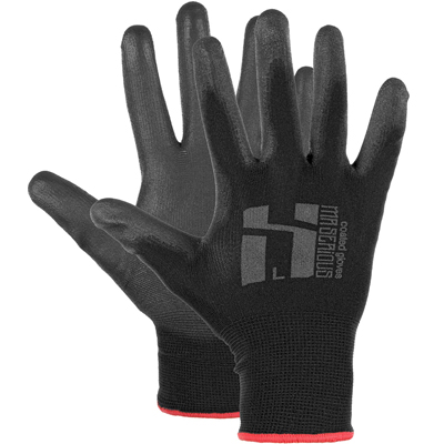 MR. SERIOUS PU-Coated Painting Gloves