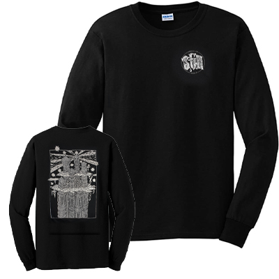 SCHMUGGLERHUDLÄ Longsleeve LIGHTHOUSE CASTLE black