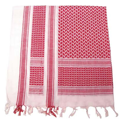 SCARF Shemagh RED
