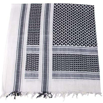 SCARF Shemagh BLACK