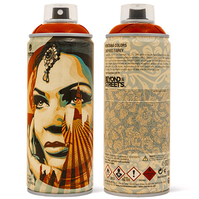 MTN Collectors Can SHEPARD FAIREY - TARGET red