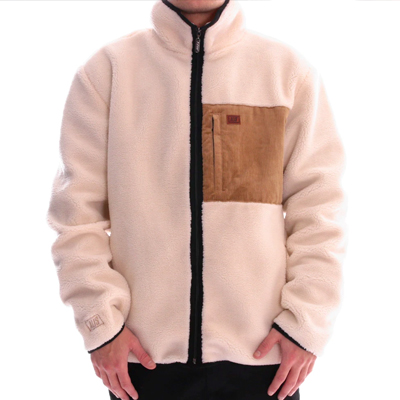 ALIS Sherpa Jacket INTO THE WILD offwhite