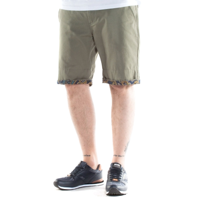 WRUNG Chino Shorts RIDER khaki green