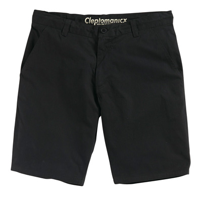 CLEPTOMANICX Chino Shorts THE ONE 2 black