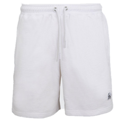 UNFAIR ATHLETICS Sweat Shorts PUNCHINGBALL white