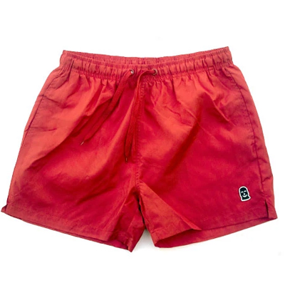 VANDALS ON HOLIDAYS Swim Shorts MASK red