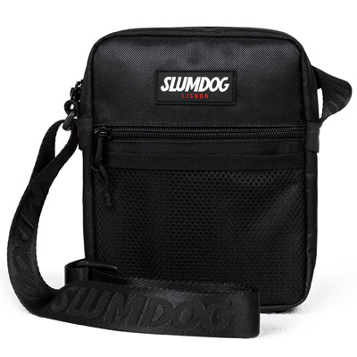 SLUMDOG Shoulder Bag LOGO black