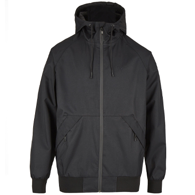 CLEPTOMANICX Summer Jacket SIMPLIST 2 black