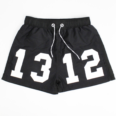 SIXBLOX Swim Shorts 1312 black/white