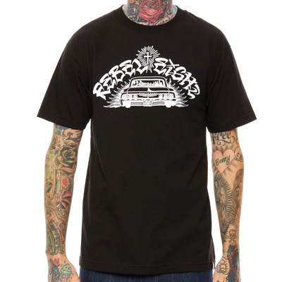 REBEL8 T-Shirt SIX FOUR black/white