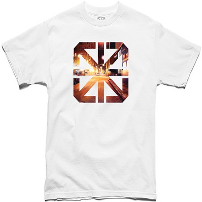 7TH LETTER T-Shirt SIXTH ICON white