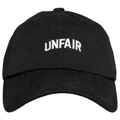 UNFAIR ATHLETICS 6Panel Baseball Cap UNFAIR black