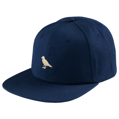 CLEPTOMANICX Snap Back Cap MINI GULL dark navy