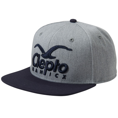 CLEPTOMANICX Snap Back Cap SUPER CI hth grey/black
