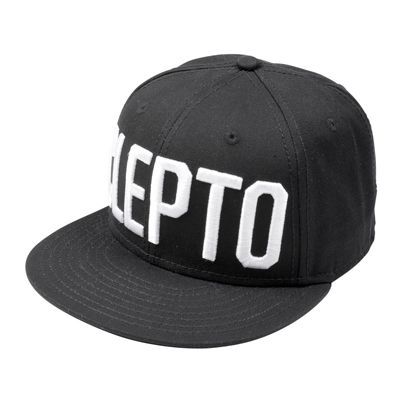 CLEPTOMANICX Snap Back Cap CLEPTO pirate black
