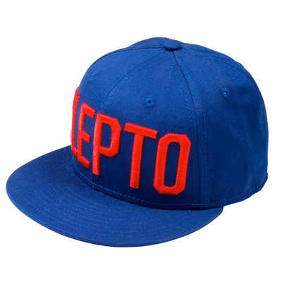 CLEPTOMANICX Snap Back Cap CLEPTO soda blue