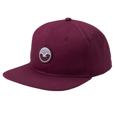 CLEPTOMANICX Snap Back Cap PATCH tawny port