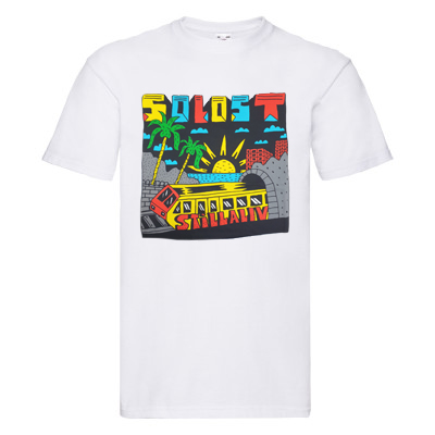 SO LOST T-Shirt STILLALIVE white/multi