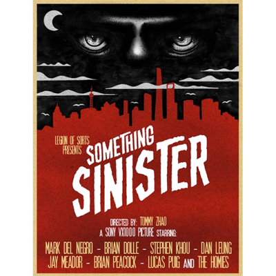 HELAS DVD Something Sinister